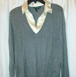 Ralph Lauren Silk (with cashmere) sweater